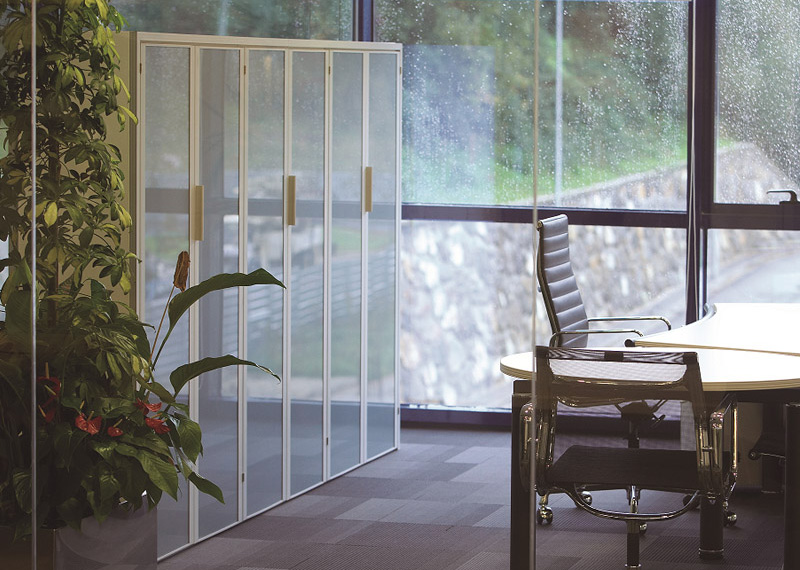 Aluminios EIbar / Obras de división de oficinas: armarios