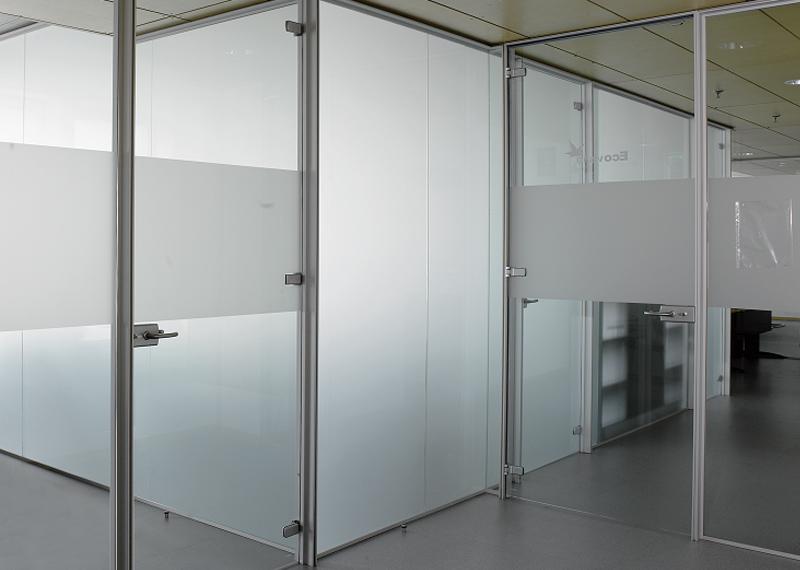 Aluminios Eibar / Bulegoen banaketako obrak: ateak