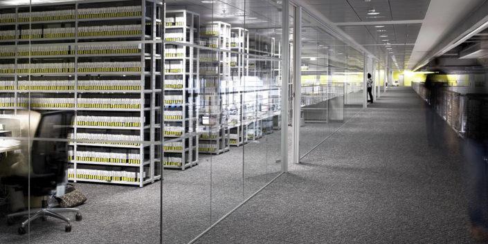 Aluminios Eibar / Bulegoen banaketako obrak: sistema lineala