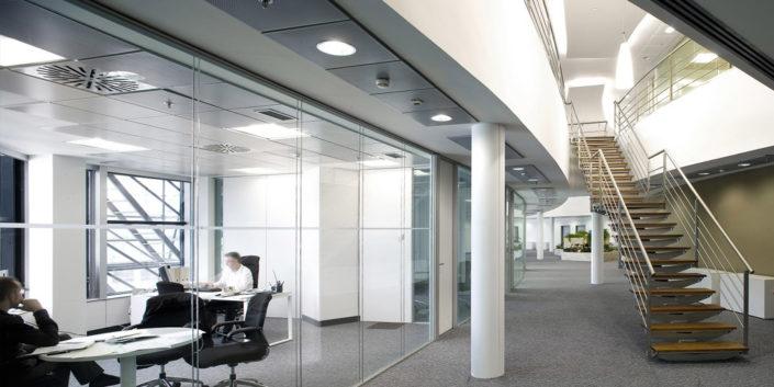 Aluminios Eibar / Obras de división de oficinas