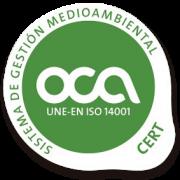 OCA ISO 14001 ziurtagiria