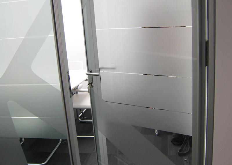 Aluminios Eibar / Travaux de division des bureaux: portes