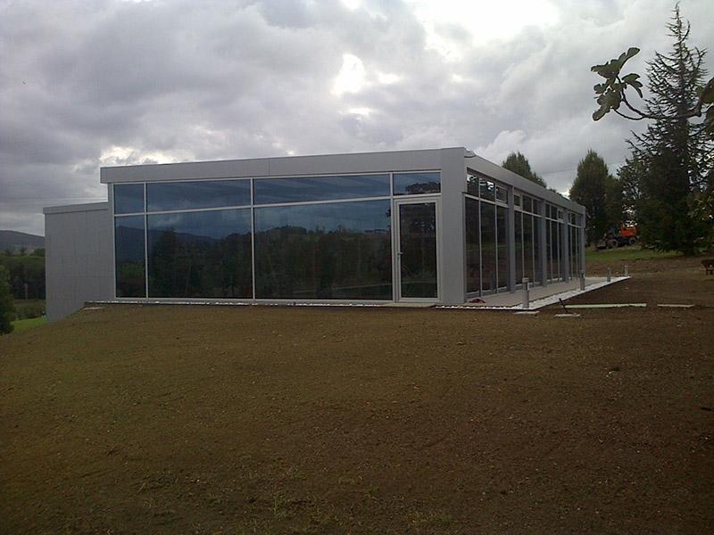 Aluminios Eibar / Travaux de panneau en Composite