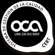 OCA ISO 9001 ziurtagiria